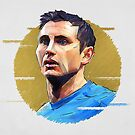 Geometric Lampard by Mark White