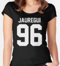 Camiseta entallada de cuello redondo #FIFTHHARMONY, Lauren Jauregui