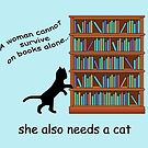 Cats and Books by FrankieCat