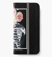 Twenty One Pilots Fake You Out 3 (White) iPhone Wallet/Case/Skin