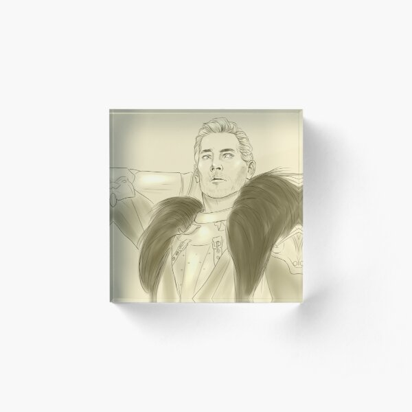Cullen Rutherford Acrylic Block