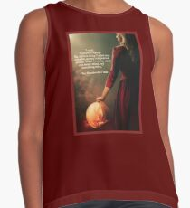 The Handmaid's Tale ~ Quote Sleeveless Top