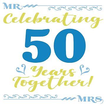 50th Wedding Anniversary by thepixelgarden