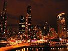 Melbourne Lights... by JAZ art