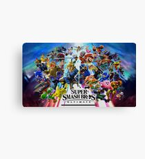 Super Smash Bros. Ultimate Characters Canvas Print