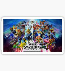 Super Smash Bros. Ultimate Characters Sticker