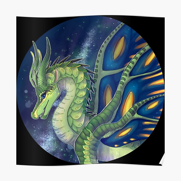 Wings of Fire - Luna the SilkWing Poster