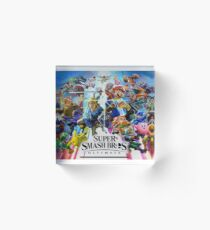 Super Smash Bros. Ultimate Characters Acrylic Block