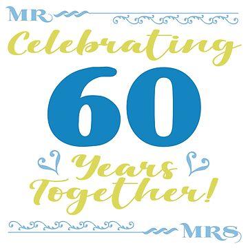 60th Wedding Anniversary by thepixelgarden