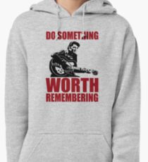 Elvis presley t shirts - Do something worth remembering Pullover Hoodie
