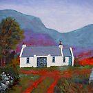 Cottage, Mountain (Ireland) by eolai
