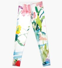 Watery Floral Leggings