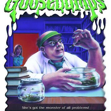 Goosebumps - The Girl Who Cried Monster by nicolascagedesu