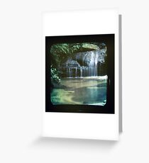 ttv waterfall 2 Greeting Card