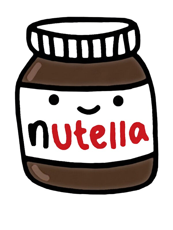 nutella cute stickers by rekip redbubble