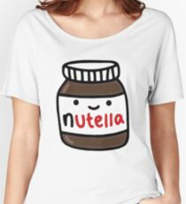 Nutella Cute Women's Relaxed Fit T-Shirt