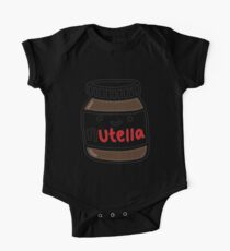 Nutella Cute One Piece - Short Sleeve