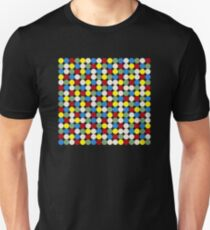 4-color-dots Unisex T-Shirt