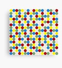 4-color-dots Canvas Print