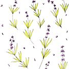 Lavender Sprigs by artdamnit