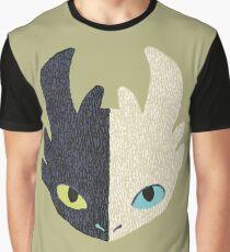 Night Fury / Light Fury Graphic T-Shirt