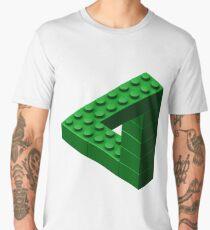 Escher Toy Bricks - Green Men's Premium T-Shirt