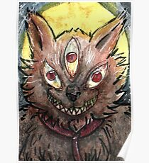Pet Werewolf Poster
