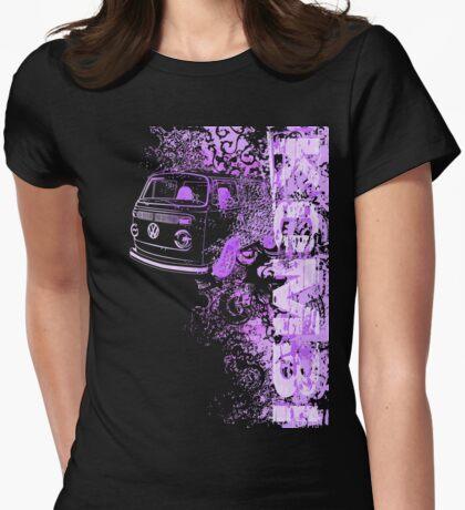 Volkswagen Kombi Tee shirt - Grunge Purple T-Shirt