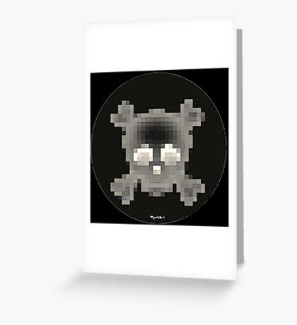 Emojii skullii-pix • 7 Greeting Card