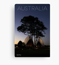 Australian Icons Canvas Print