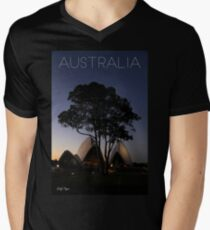 Australian Icons Mens V-Neck T-Shirt