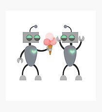 Love Bots Photographic Print