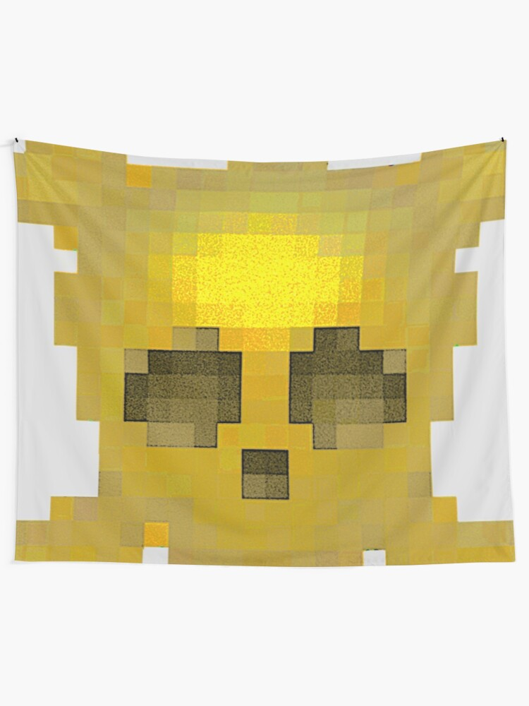 Alternate view of Emojii skullii-pix • 11 Tapestry