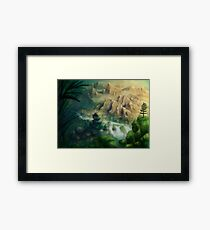 Lead Me To The Bliss Framed Print