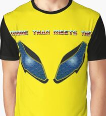 Bumble Bee Eyes, More than meets the Graphic T-Shirt