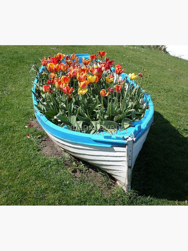 A Boat Load Of Flowers by manxhaven
