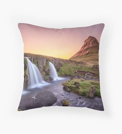 Short Summernights Of Eternal Twilight Throw Pillow