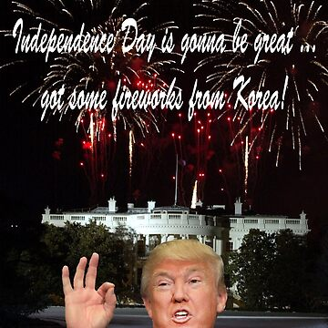 Donalds Korean Fireworks: Happy 4th of July by TrumpThe45th