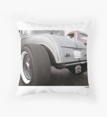 DONUT DERELICTS, Huntington Beach • 002 Throw Pillow