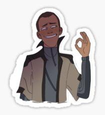 Markus a-okay Sticker