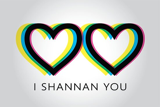 I Shannan You Queer Eye Style Logo by dopaminebrand