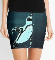 """""""Penguin"""" - from the heron of my paper boats Mini Skirt"""