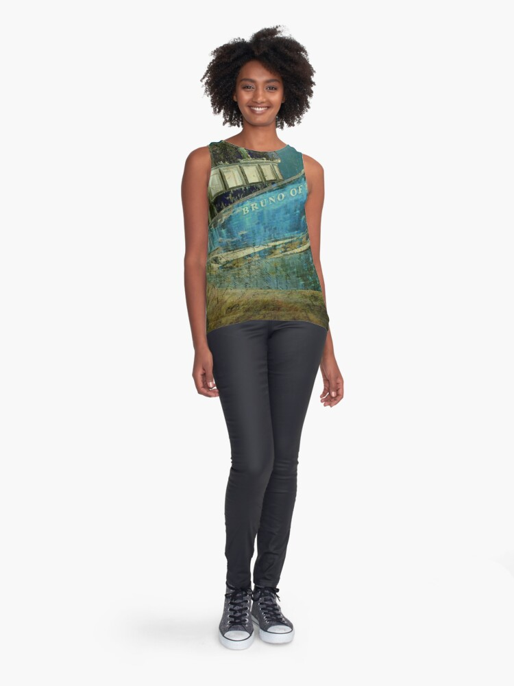 Alternate view of Midnight Shipwreck Sleeveless Top