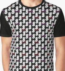 Ruth Bader Ginsburg Pattern Graphic T-Shirt