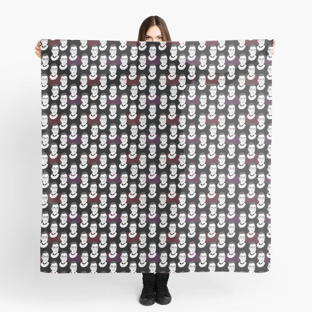 Ruth Bader Ginsburg Pattern Scarf