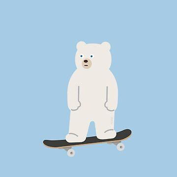 unBEARable Skateboarding  by 73553