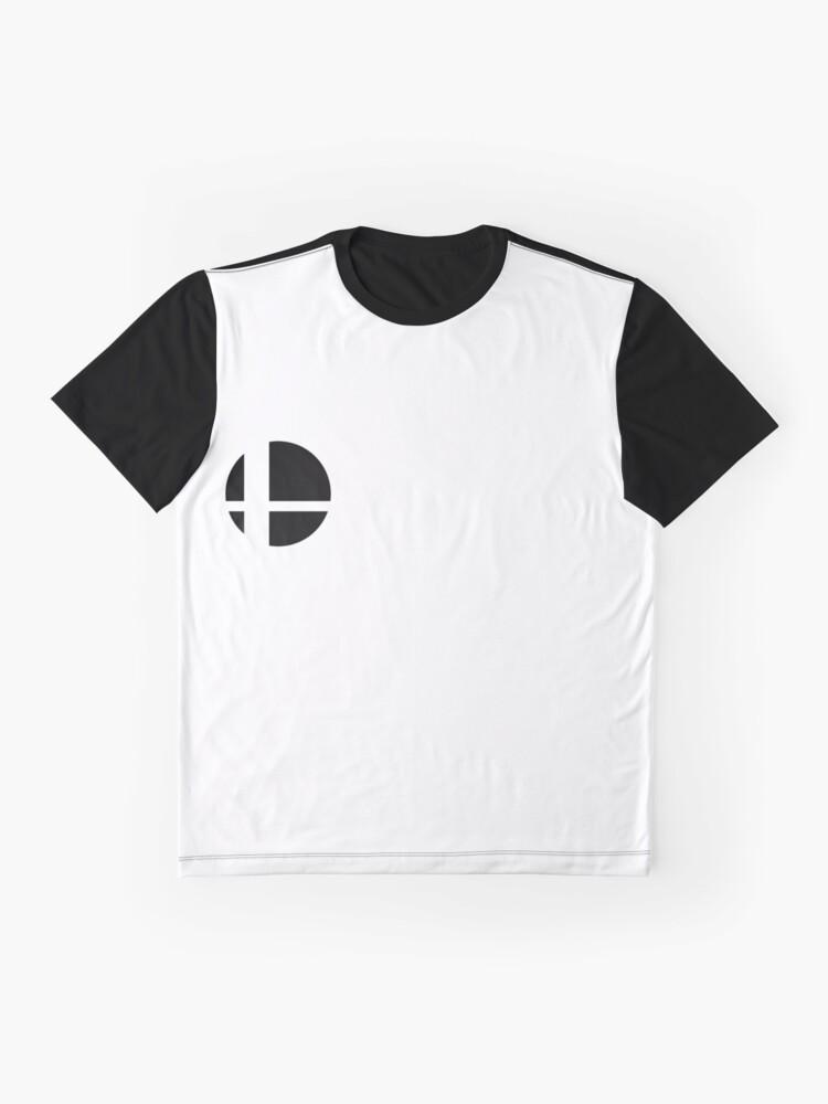 Alternate view of Super Smash Bros. Ultimate LOGO! Graphic T-Shirt