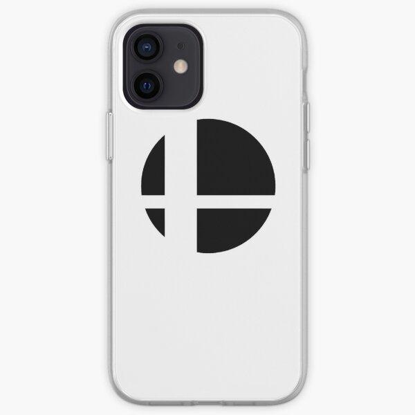 Super Smash Bros. Ultime LOGO! Coque souple iPhone