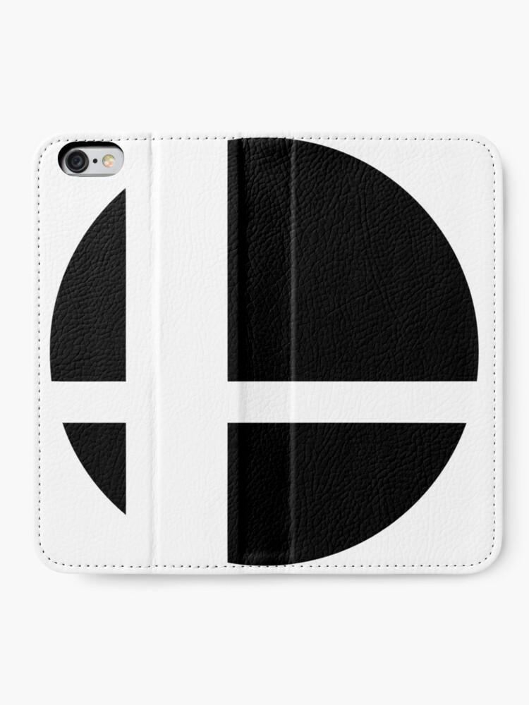 Alternate view of Super Smash Bros. Ultimate LOGO! iPhone Wallet