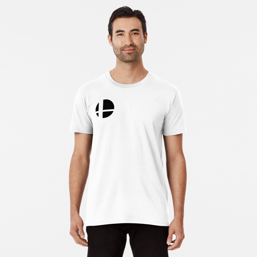 Super Smash Bros. Ultimate LOGO! Premium T-Shirt